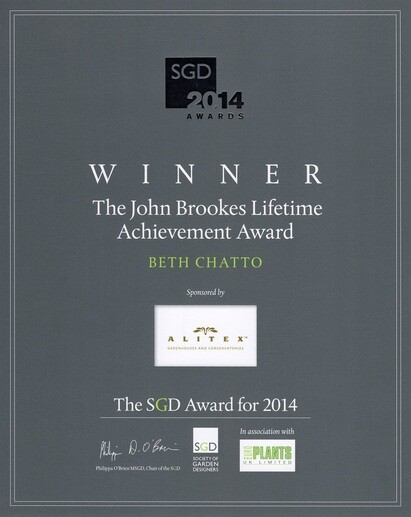 The John Brookes Lifetime Achievement Award 2014