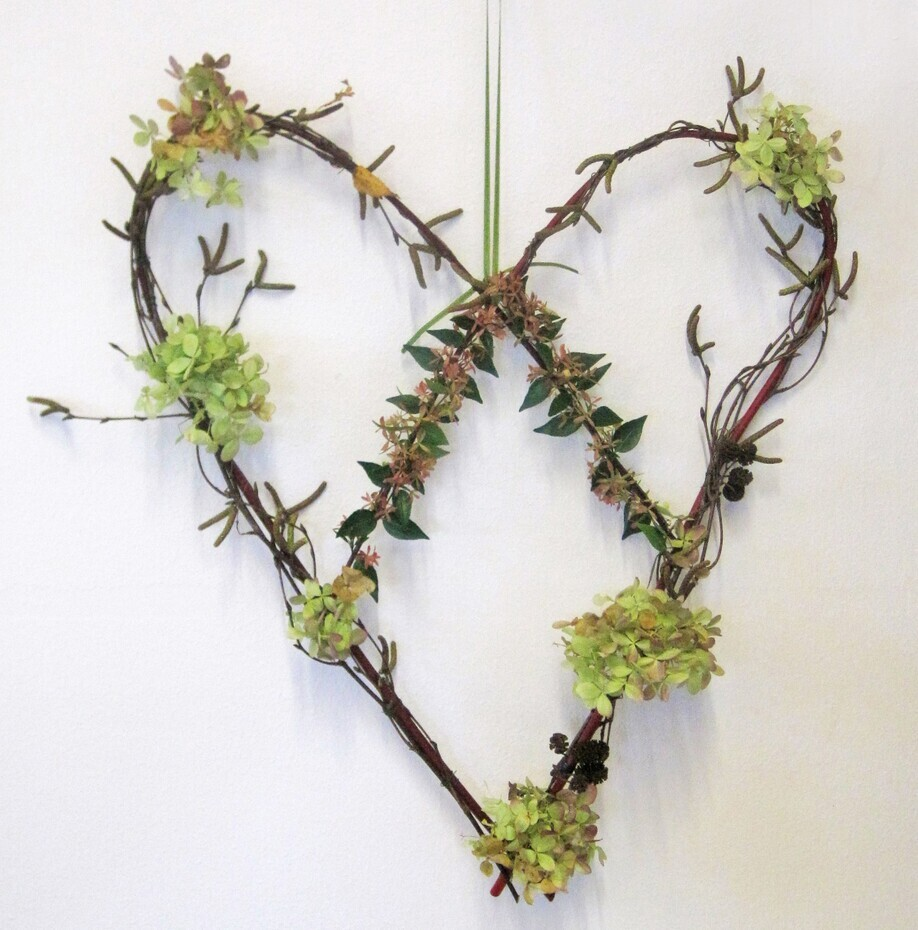 Make a Dogwood Heart